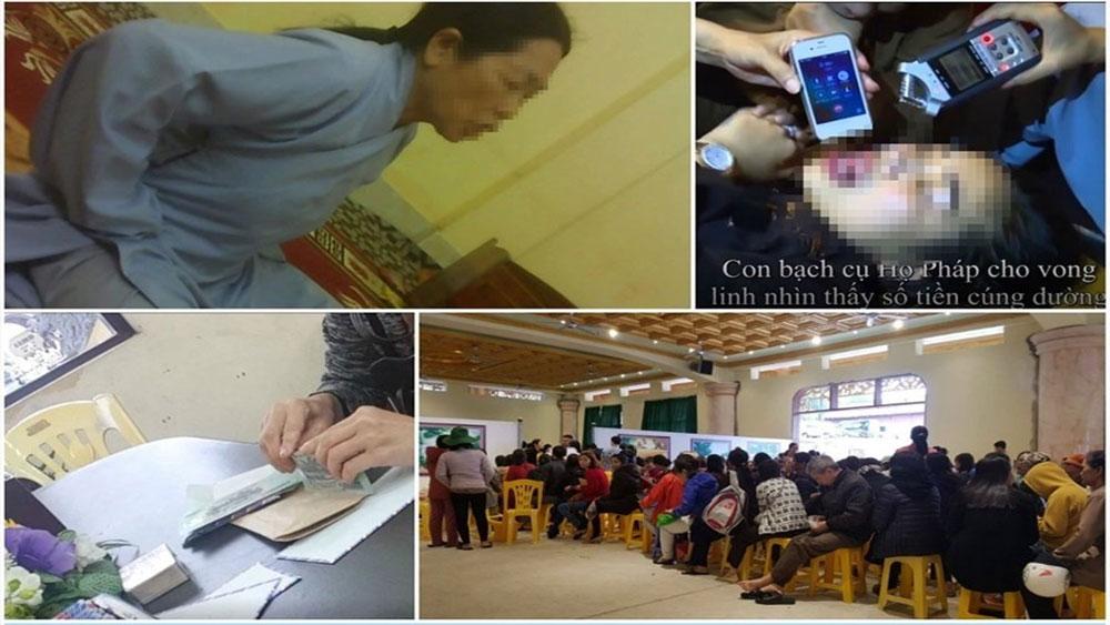 Gọi 'vong' ở chùa Ba Vàng: Ban Tôn giáo Chính phủ yêu cầu kiểm tra, xử lý